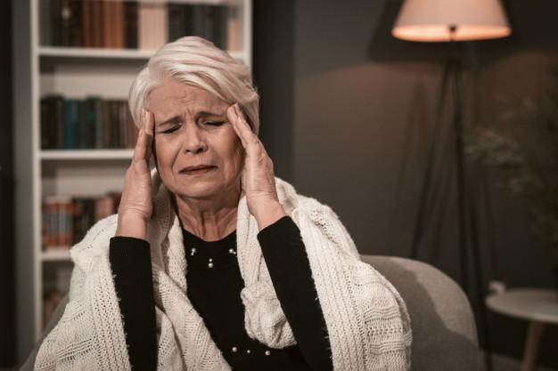 Amnesia - Seorang wanita lansia